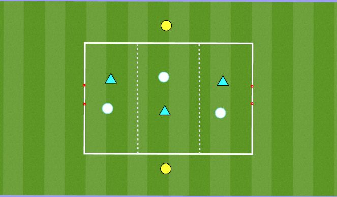 Football/Soccer Session Plan Drill (Colour): Position Play
