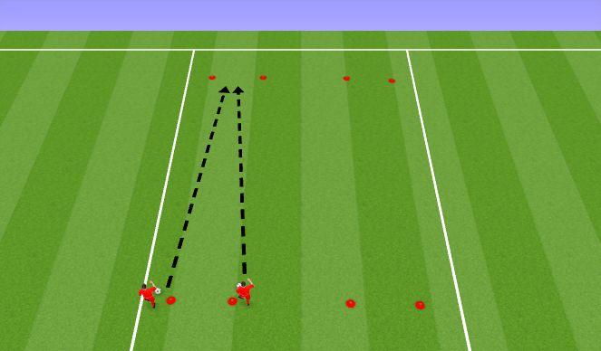 Football/Soccer Session Plan Drill (Colour): Lõdvestus