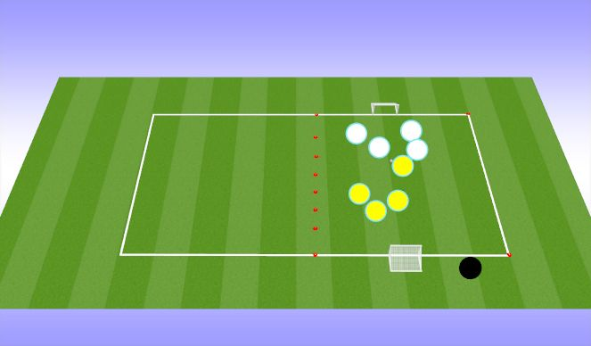 Football/Soccer Session Plan Drill (Colour): Arrival Activity: Scrimmage
