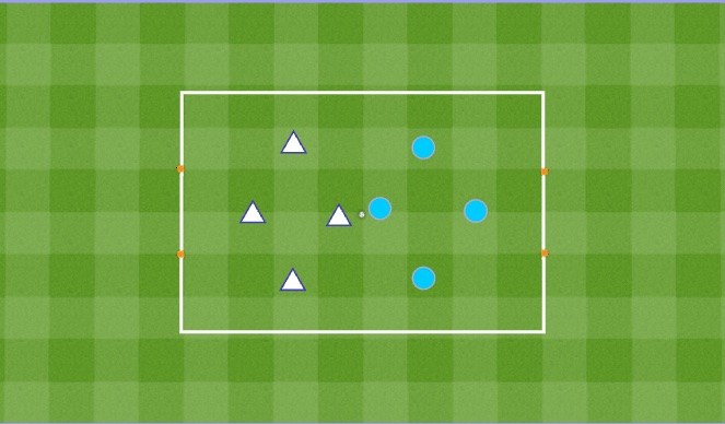 Football/Soccer Session Plan Drill (Colour): Warm-Up Small Sided Game