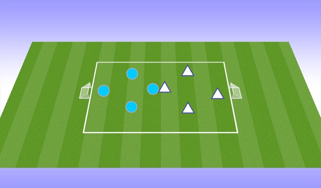 Football/Soccer Session Plan Drill (Colour): Game: Technical/Tactical