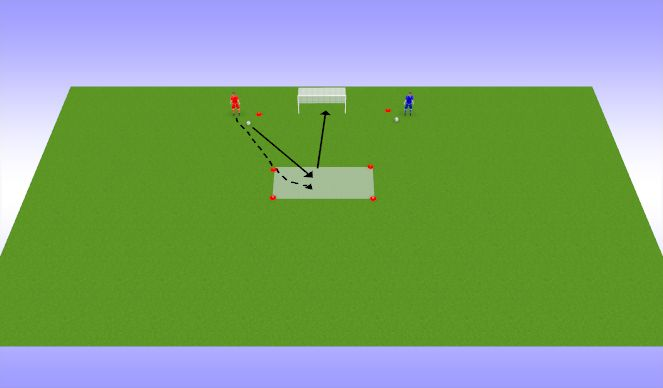 Football/Soccer Session Plan Drill (Colour): Löögivõistlus 2