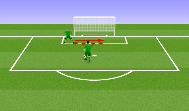 Football/Soccer Session Plan Drill (Colour): VV harjutus I