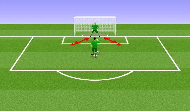 Football/Soccer Session Plan Drill (Colour): VV harjutus II