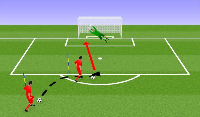 Football/Soccer Session Plan Drill (Colour): Löögid 2