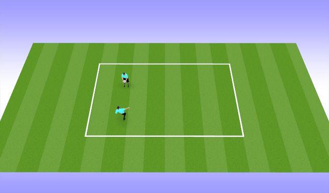 Football/Soccer Session Plan Drill (Colour): juggling - intermediate