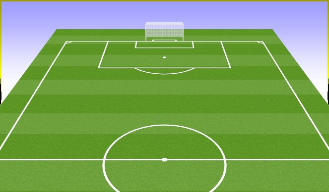 Football/Soccer Session Plan Drill (Colour): BPO OFENSIVO