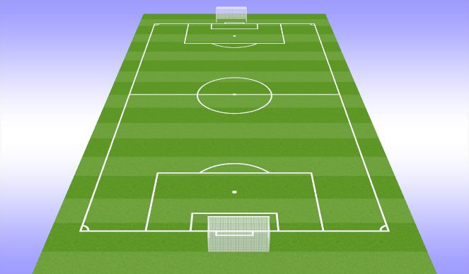 Football/Soccer Session Plan Drill (Colour): Functional Work