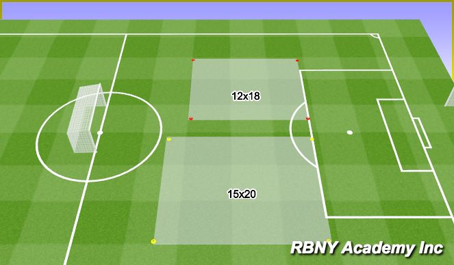 Football/Soccer Session Plan Drill (Colour): Intro.