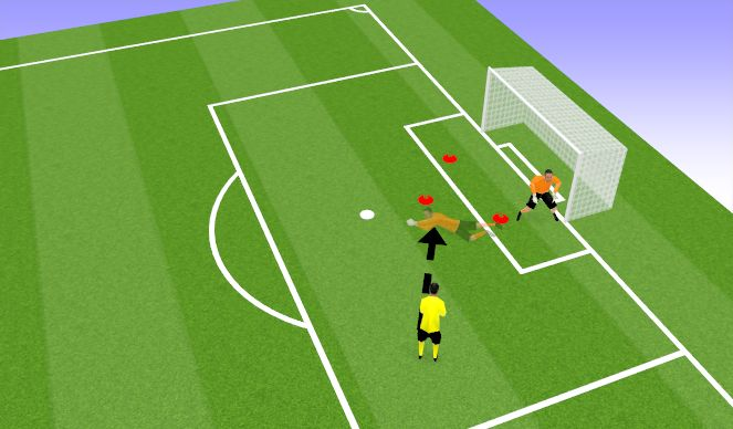 Football/Soccer Session Plan Drill (Colour): Game-Based Work
