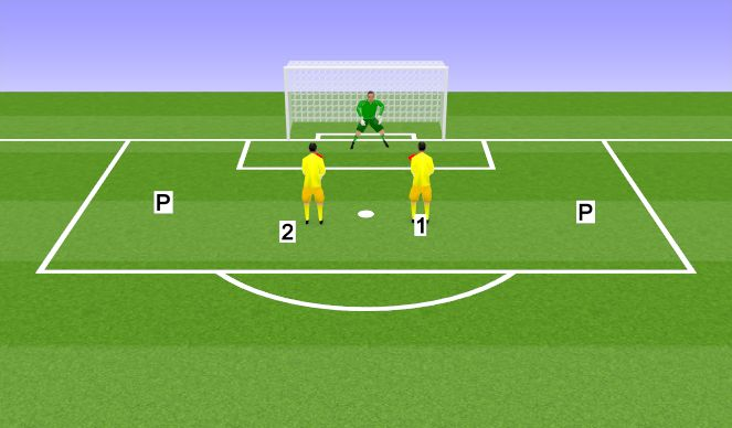 Football/Soccer Session Plan Drill (Colour): Handling and movement warm-up