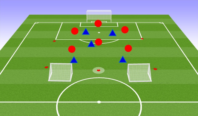 Football/Soccer Session Plan Drill (Colour): Get Out Of Jail
