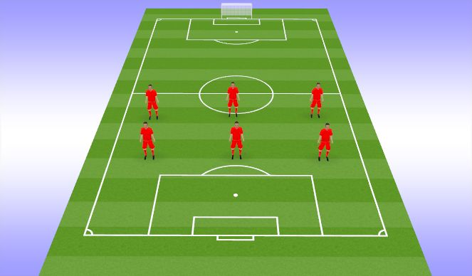 Football/Soccer Session Plan Drill (Colour): Cool Down Stretch