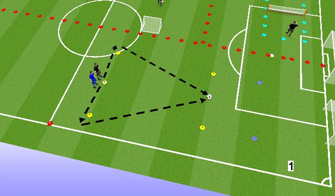 Football/Soccer Session Plan Drill (Colour): Jaam 1.2
