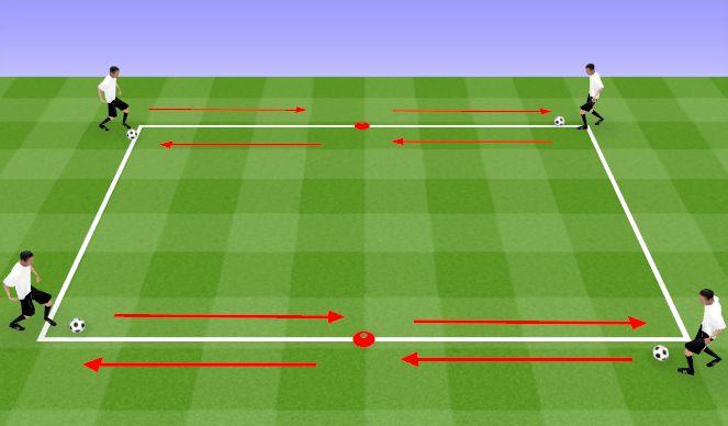 Football/Soccer Session Plan Drill (Colour): Activity #1: Skills