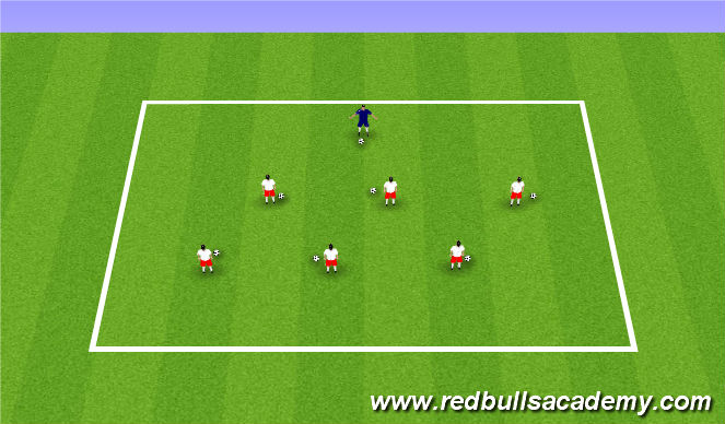 Football/Soccer Session Plan Drill (Colour): I can do this, can you?