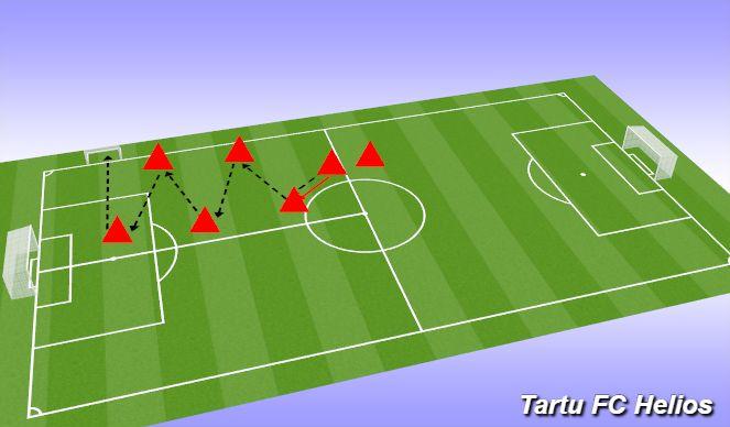 Football/Soccer Session Plan Drill (Colour): Nurga all söötmine