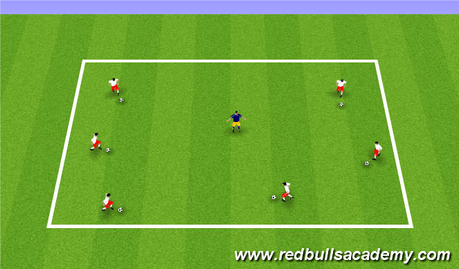 Football/Soccer Session Plan Drill (Colour): Planet Savers