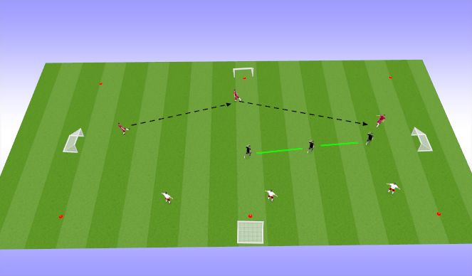 Football/Soccer Session Plan Drill (Colour): compact shape