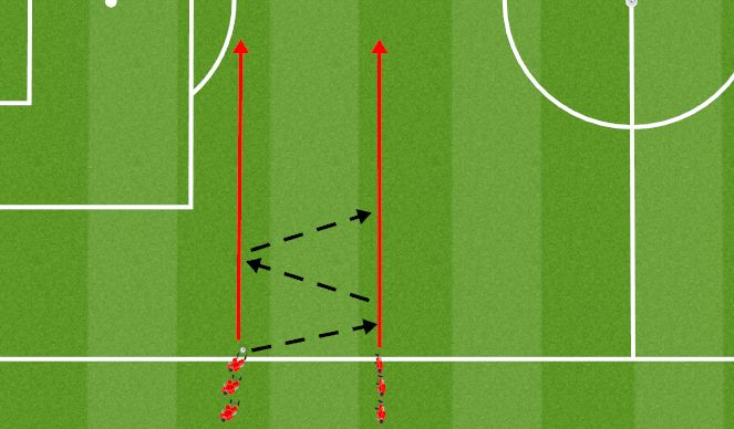 Football/Soccer Session Plan Drill (Colour): Animation 7