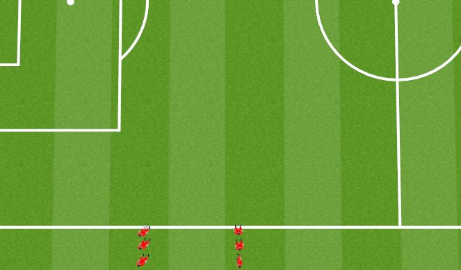 Football/Soccer Session Plan Drill (Colour): Animation 9