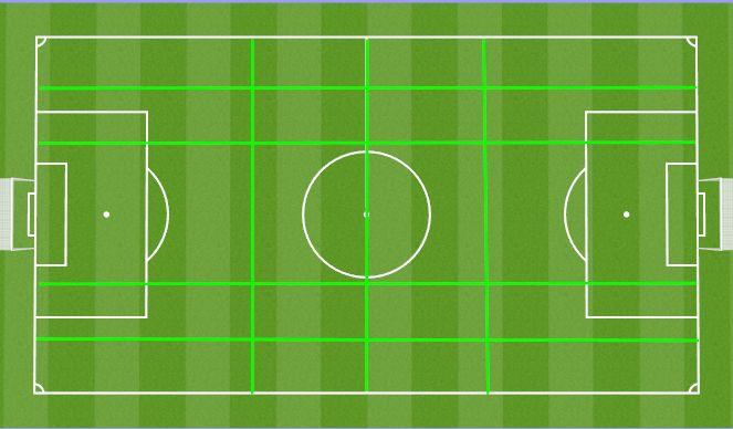 Football/Soccer Session Plan Drill (Colour): Basic
