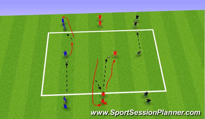 Football/Soccer: Turning (Technical: Turning, U9)