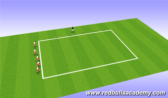 Football/Soccer Session Plan Drill (Colour): Mai Theme