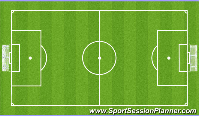 Football/Soccer Session Plan Drill (Colour): Spila.