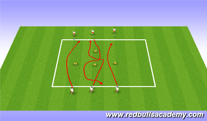 Football/Soccer Session Plan Drill (Colour): Crab soccer, Sharks and Minnows