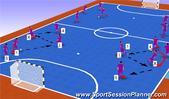 Futsal: Xavi and Iniesta, Tactical: Combination Play Junior