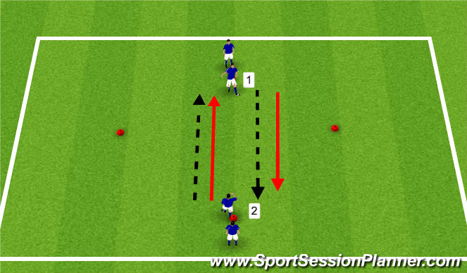 Football/Soccer Session Plan Drill (Colour): Diamond Exercise