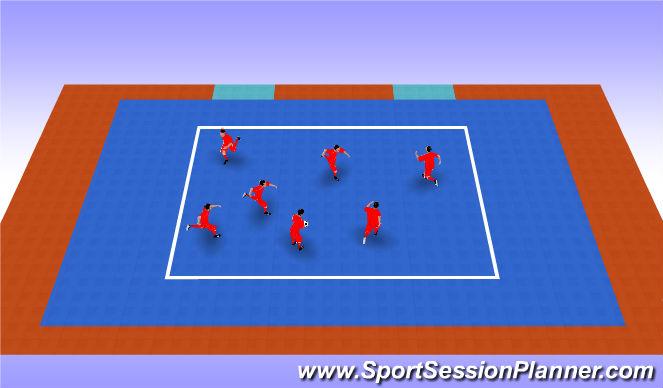 Futsal Session Plan Drill (Colour): Pilla Pilla