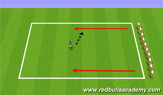 Football/Soccer Session Plan Drill (Colour): Toy Story