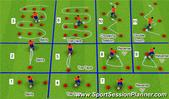 Football/Soccer: B04 Stage 5.2, Tactical: Defensive principles Moderate