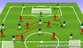 Football/Soccer: posession against full press, Tactical: Playing out from the back Difficult
