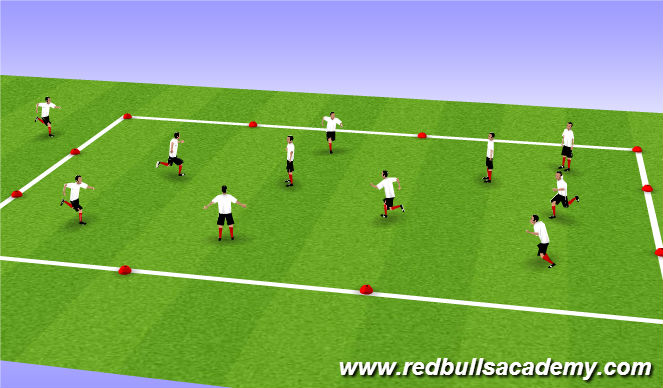 Football/Soccer Session Plan Drill (Colour): Tiger Tales