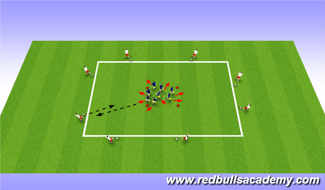 Football/Soccer Session Plan Drill (Colour): Main Theme (Passing & Receiving