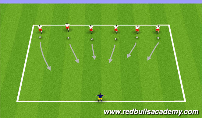Football/Soccer Session Plan Drill (Colour): Teenage Mutant Ninja Turtles