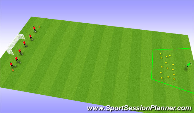 Football/Soccer Session Plan Drill (Colour): Shrek!