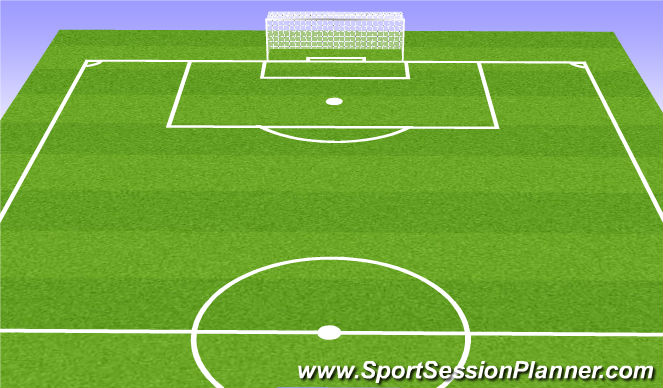 Football/Soccer Session Plan Drill (Colour): Individual Entry Work