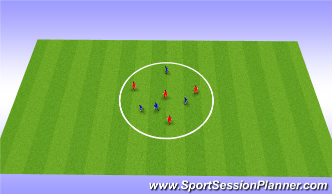 Football/Soccer Session Plan Drill (Colour): Combination skills Add-Ons
