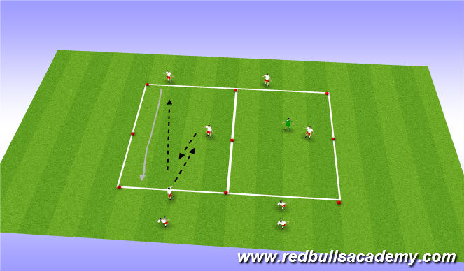 Football/Soccer Session Plan Drill (Colour): Act 1/ 2
