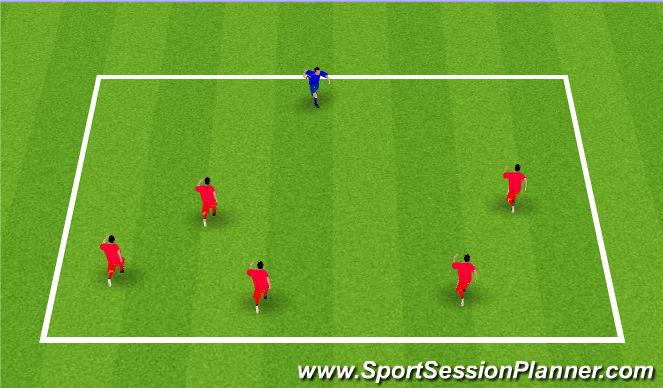 Football/Soccer Session Plan Drill (Colour): Shrek Game