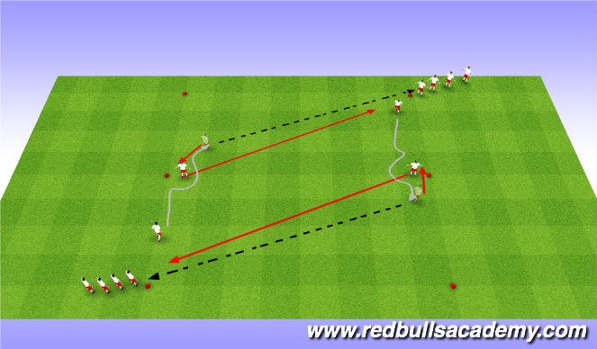 Football/Soccer Session Plan Drill (Colour): Main-Theme: 344
