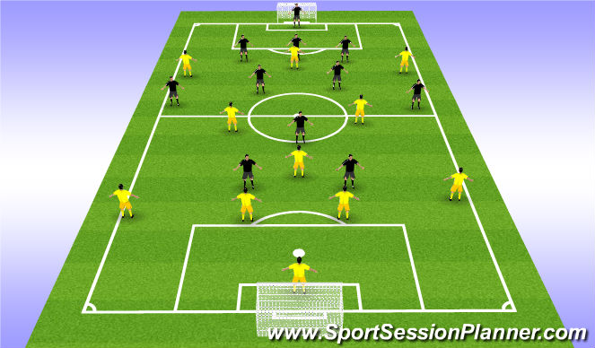 Football/Soccer Session Plan Drill (Colour): 11 ΕΝΑΝΤΙΟΝ 11