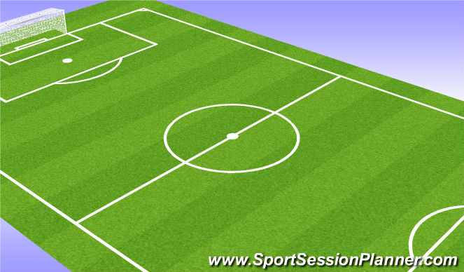 Football/Soccer Session Plan Drill (Colour): Dribble Or Pass Forward