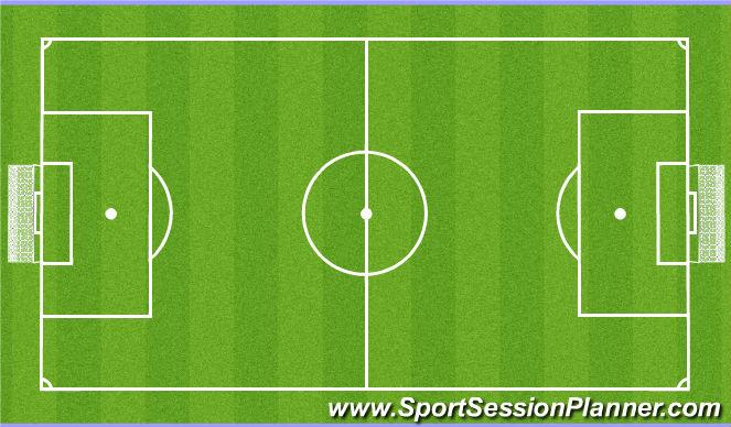 Football/Soccer Session Plan Drill (Colour): Spil