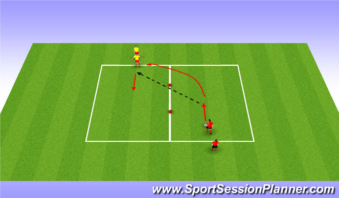 Football/Soccer Session Plan Drill (Colour): Speed - Change of pace
