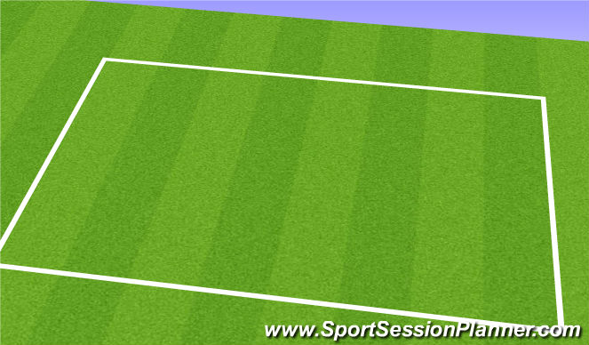 Football/Soccer Session Plan Drill (Colour): Line-Breaking Passes